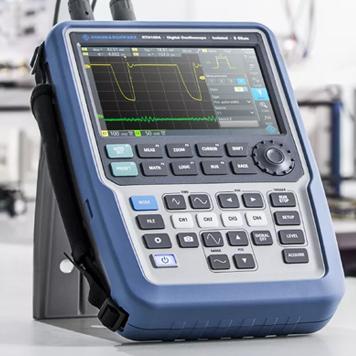 Настольный осциллограф или портативный? RTH1000 серии – ТХ, настольный прибор в портативном корпусе! Никаких компромиссов
