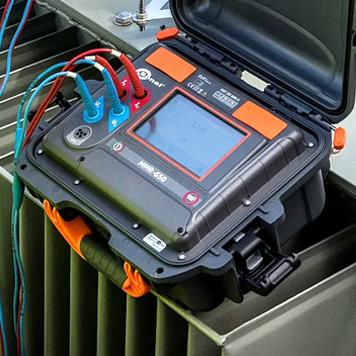 Микроомметр Sonel ТМС-650 для измерения активного сопротивления и измерения индуктивного сопротивления