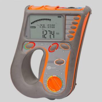 Измеритель параметров электроизоляции Sonel MIC-2510 для измерения активного и индуктивного сопротивления