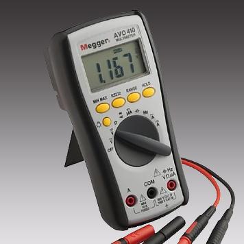 Профессиональный мультиметр <br>Megger AVO410