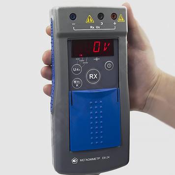 Мегаомметры Е6-24 для измерения сопротивления изоляции электрических цепей от компании Радио-сервис