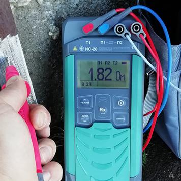 Измеритель сопротивления заземления ИС-20 от компании Радио-сервис