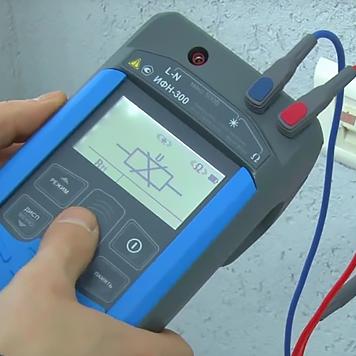 """Измеритель параметров петли """"фаза-нуль"""", """"фаза-фаза"""" ИФН-300 от компании Радио-сервис"""