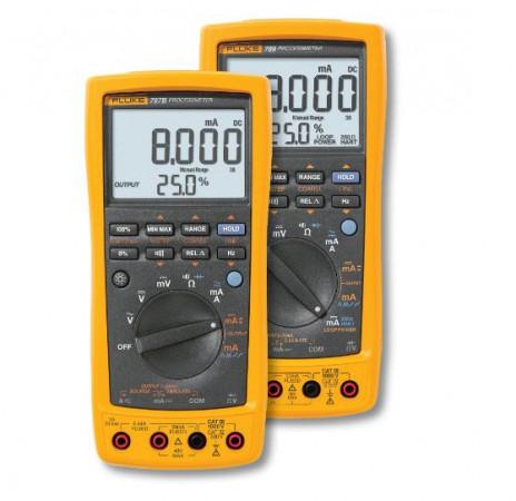 Линейка контрольно-измерительных приборов Fluke ProcessMeter™: мультиметр и калибратор токовой петли в одном корпусе: Сравнение Fluke 787 и 789