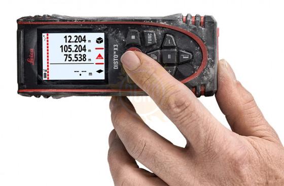 Лазерный дальномер Leica Disto X3