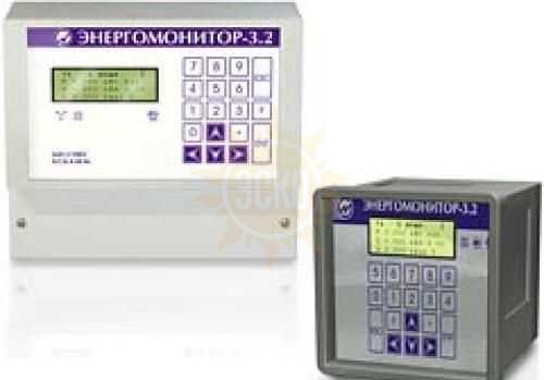 Энергомонитор-3.2 — прибор для непрерывного измерения показателей качества электрической энергии и электроэнергетических величин (ПКЭ)