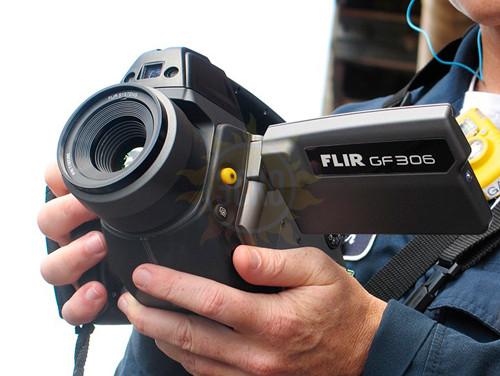 FLIR GF306 - тепловизор для обнаружения газов гексафторида серы (SF6) и аммиака